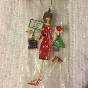 Other - Teacher Christmas ornament